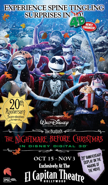 Tim Burton\'s The Nightmare Before Christmas (1993): Halloween Movie ...