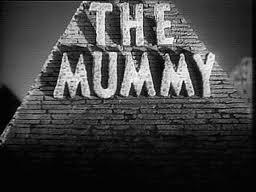 the mummy title card cesar zamora