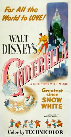 Cinderella-disney-poster cesar zamora