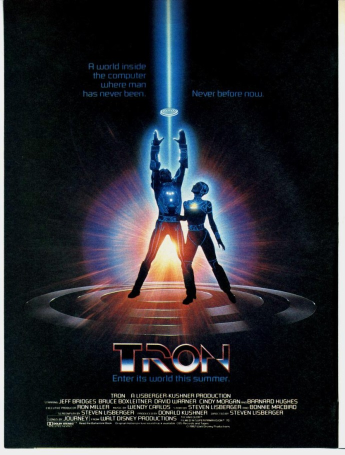 tron 1982 movie cesar zamora