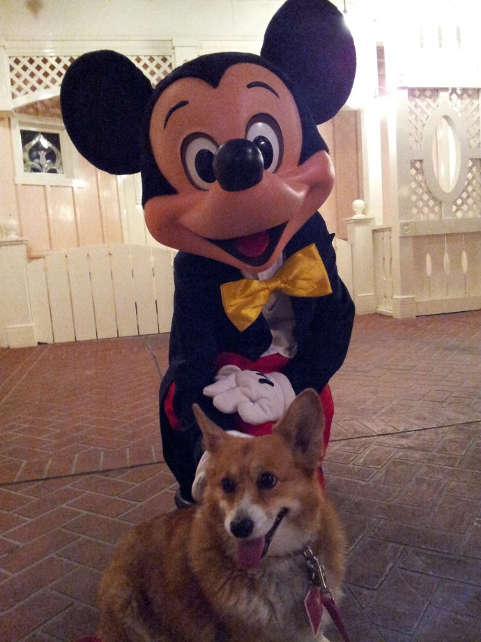 Pancake and Mickey
